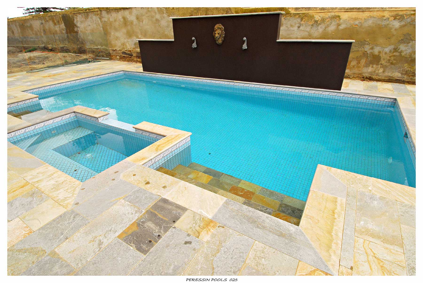 Plunge Pool with Spa